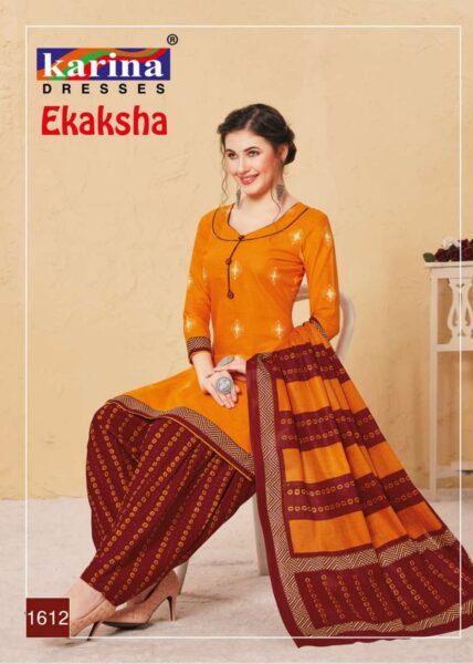 Karina Ekaksha Dress Materials Wholesaler