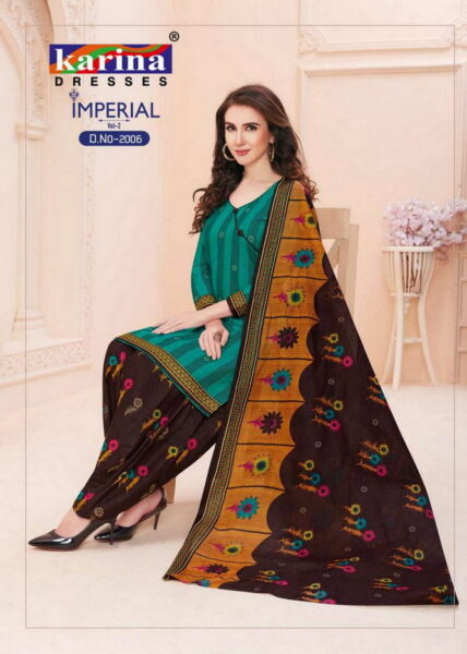 Karina Imperial Dress Materials Wholesaler