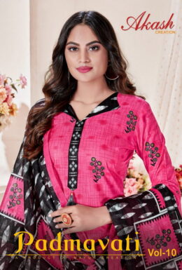 Mayur Aakash Padmavati vol 10 Dress Materials