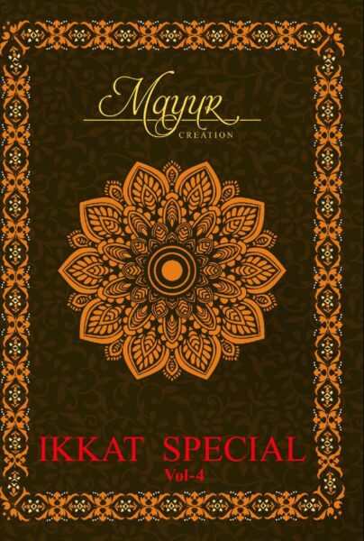 Mayur Ikkat Vol 4 Cotton Dress Materials  wholesaler