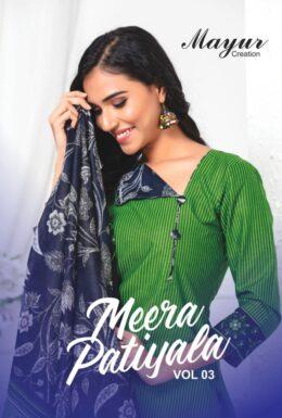 Mayur Meera Patiyala vol 3 Dress Materials Wholesale