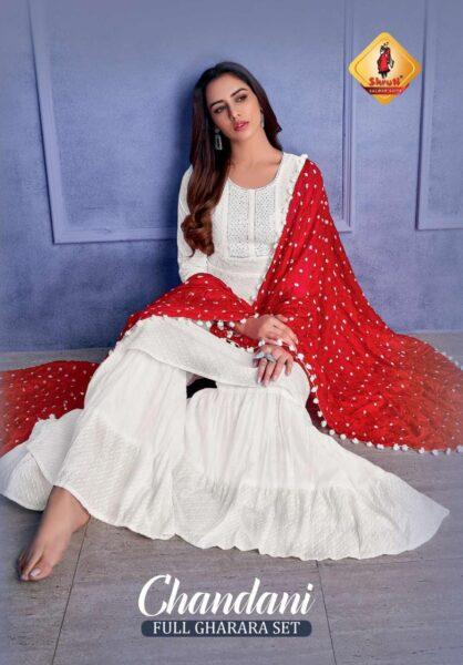 Shruti Chandani Full Gharara sets