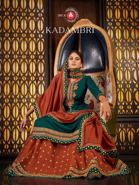 AAA Kadambari Designer Dress Wholesalers
