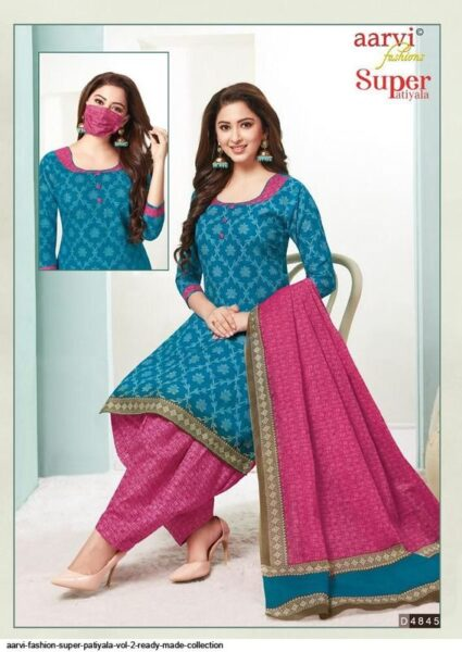 Aarvi Super Patiyala vol 2 Readymade Patiyala suits