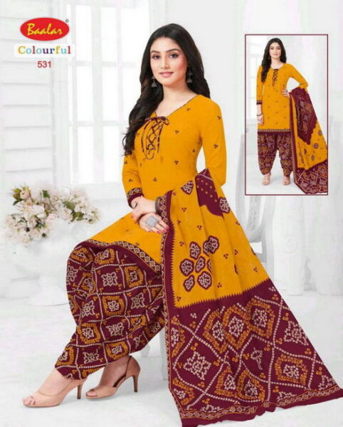 Baalar Colourful vol 5 Readymade Salwar Suits