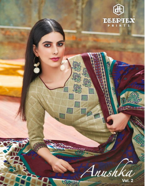 Deeptex Anushka vol 2 Dress Materials wholesale