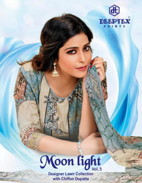 Deeptex Moonlight vol 5 Designer Dress Materials