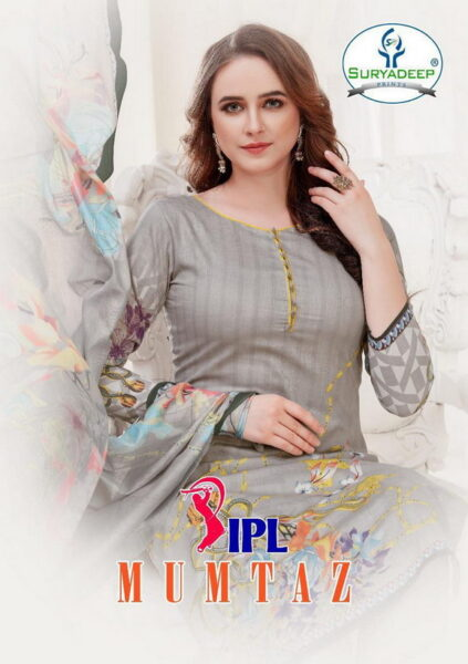 IPL Mumtaz Cotton Dress Material wholesaler