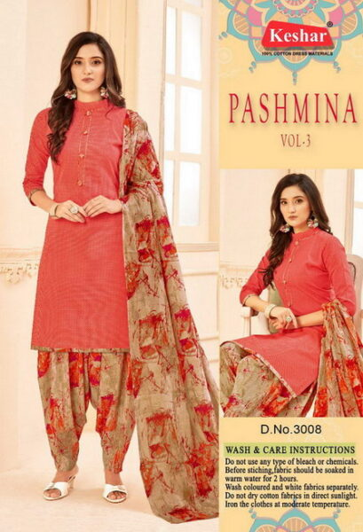 Keshar Pashmina Dress Materials Wholesalers