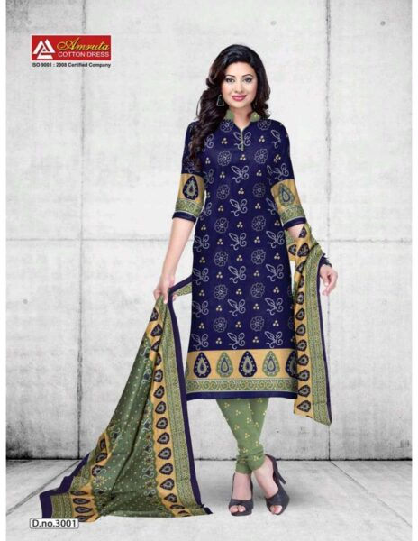 Krutika vol 3 Armruta Cotton Print Dress Materials