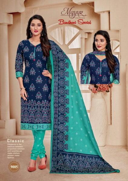 Mayur Bandhani vol 9 Cotton Print Dress Materials