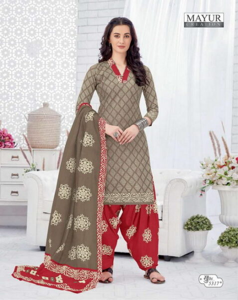 Mayur Khushi vol 53 Cotton Dress Materials wholesaler