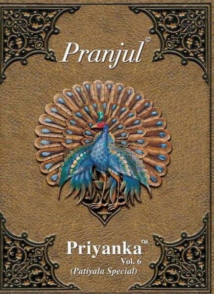Pranjul Priyanka vol 6 Dress Materials Wholesale