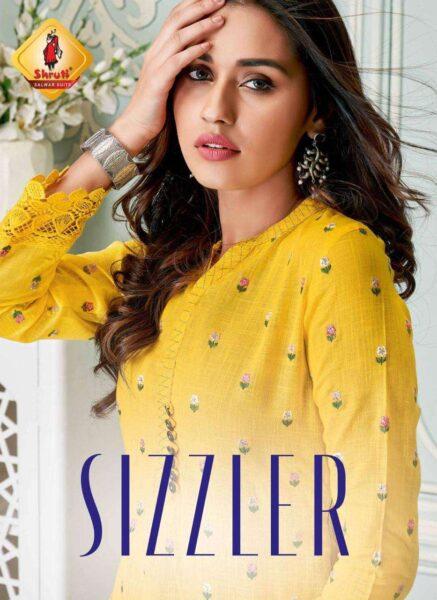 Shruti sizzler Kurtis with Bottom Wholesalers