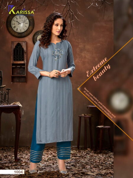 Vaidehi Karissa Kurtis with Pants wholesalers
