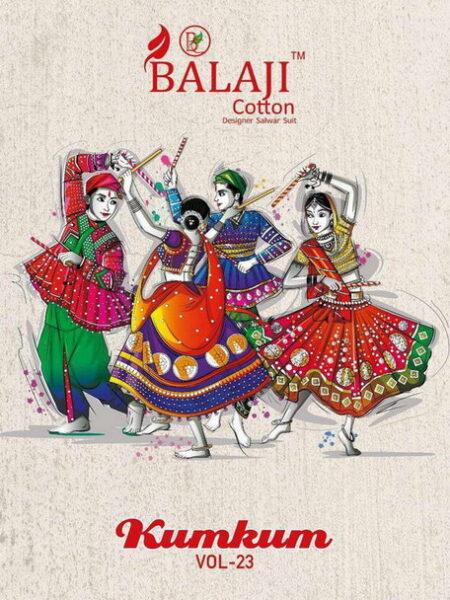Balaji Kumkum vol 23 Dress Materials wholesaler