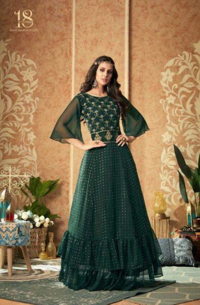 Dulhaniya 18 Attitude Designer Gown Kurtis wholesalers