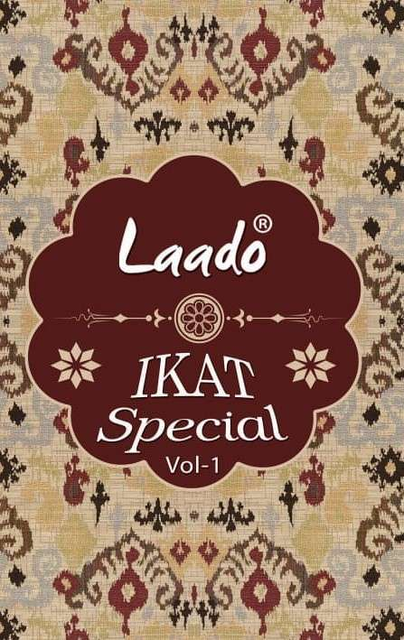 Laado Ikkat spl vol 1 Cotton Dress Materials wholesalers