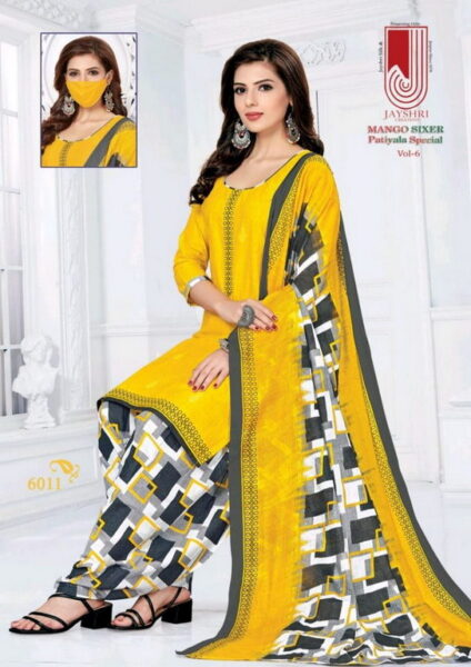 Mango Sixer vol 6 Dress Materials wholesaler