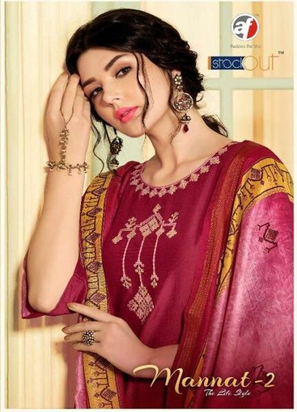 Mannat Vol 2 Af Readymade suits with palazzo