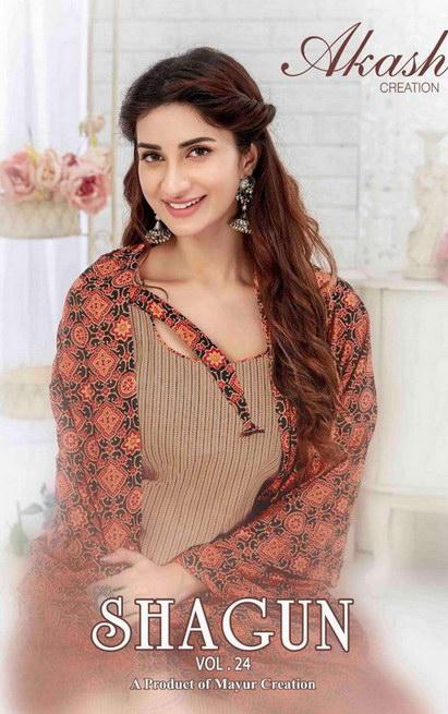 Mayur Shagun vol 24 Dress Materials wholesalers