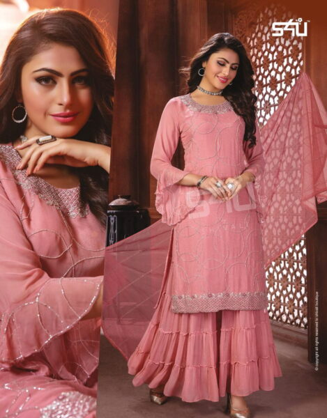 S4U Inayat Festive wear Designer suits wholesalers