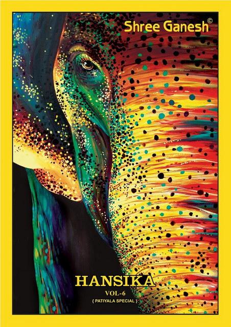 Shree Ganesh Hansika vol 6 Patiyala suits wholesalers