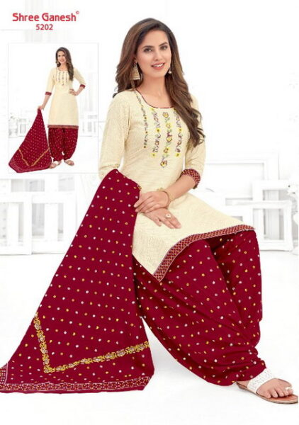 Shree Ganesh Panchi vol 3 Readymade Patiyala suits