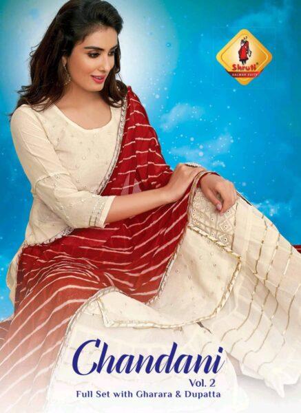 Shruti Chandani vol 2 Tops with Gharara & Dupatta