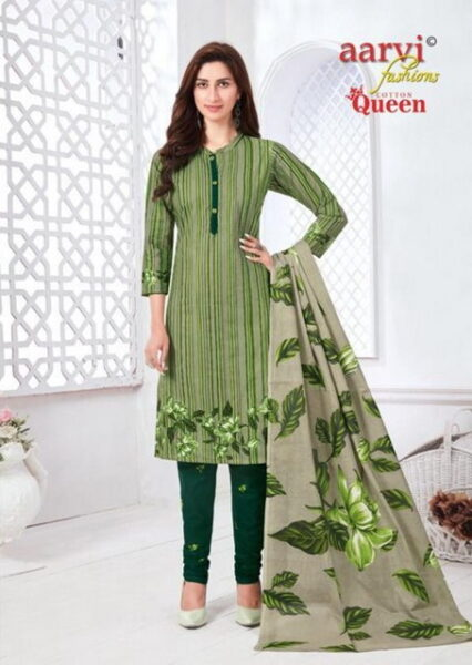 Aarvi Cotton Queen vol 2 Dress Materials wholesalers