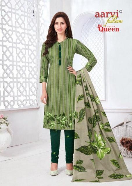 Aarvi Cotton Queen vol 2 Dress Materials wholesalers