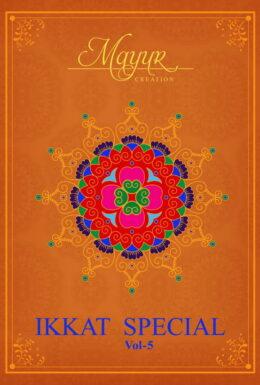 Mayur Ikkat vol 5 Dress Materials wholesalers
