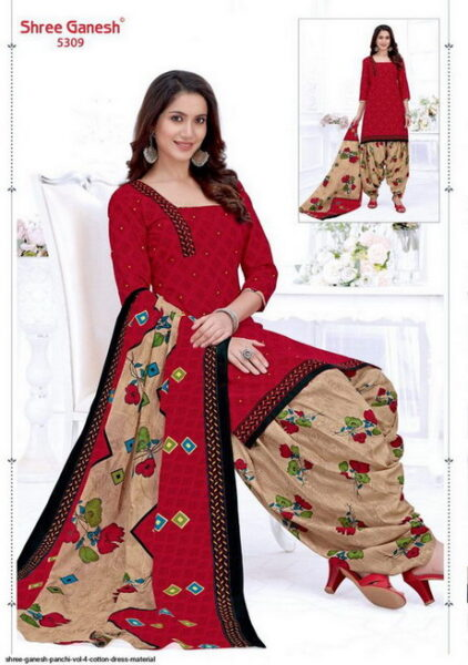 Shree Ganesh Panchi vol 4 Dress Materials wholesalers