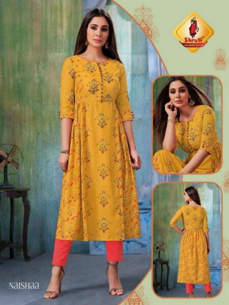 Shruti Alisha Frock style Kurtis wholesalers