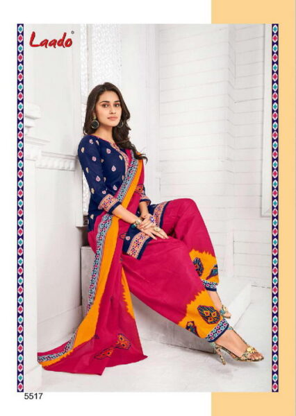 Laado vol 55 Dress Materials wholesalers