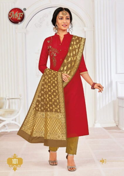 MF Rang vol 1 Kurtis with Bottom & Dupatta