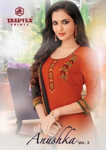Deeptex Anushka vol 3 Cotton Dress Materials wholesalers