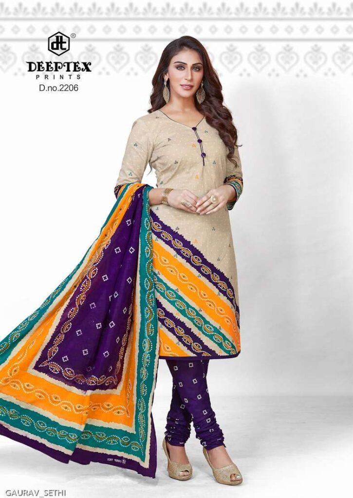 Deeptex Bandhani vol 22 Dress Materials wholesalers