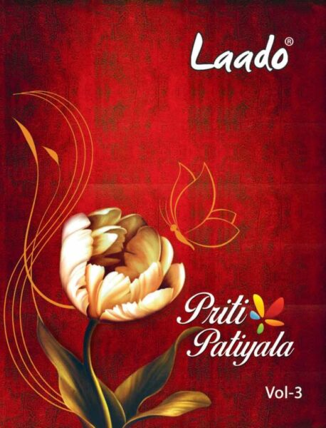 Laado Priti Patiyala Vol 3 Cotton dress Material
