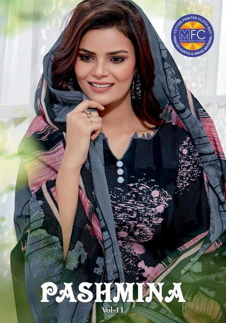 MFC Pashmina vol 11 Dress Materials wholesalers