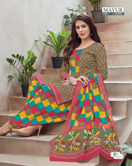 Mayur Khushi vol 54 Cotton Dress Materials