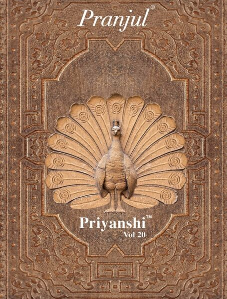 Pranjul Priyanshi vol 20 Dress Materials wholesalers