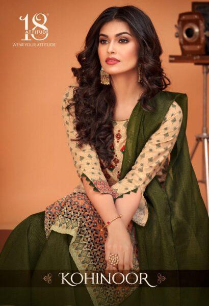 18 Attitude Kohinoor Tops with Gharara & Dupatta