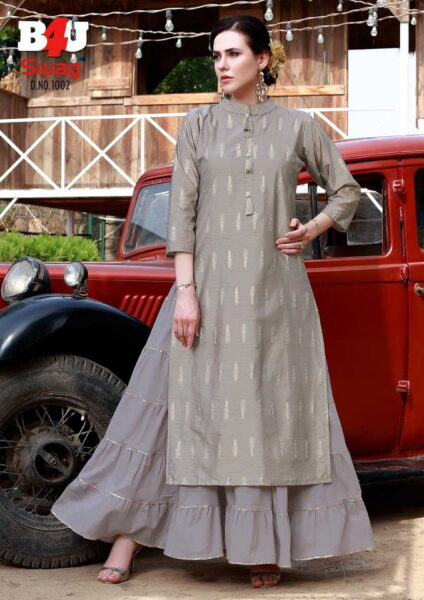 B4U Swag Designer Long Kurtis wholesalers