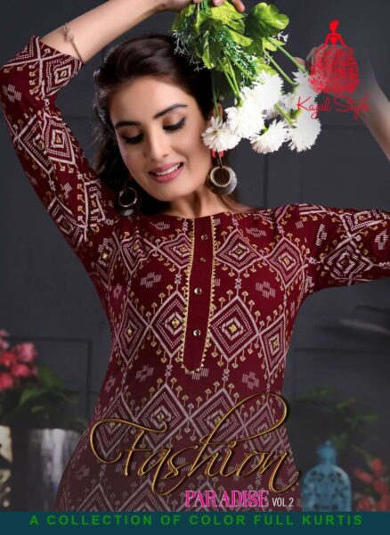 Kajal Paradise vol 2 Kurtis with Pants wholesalers