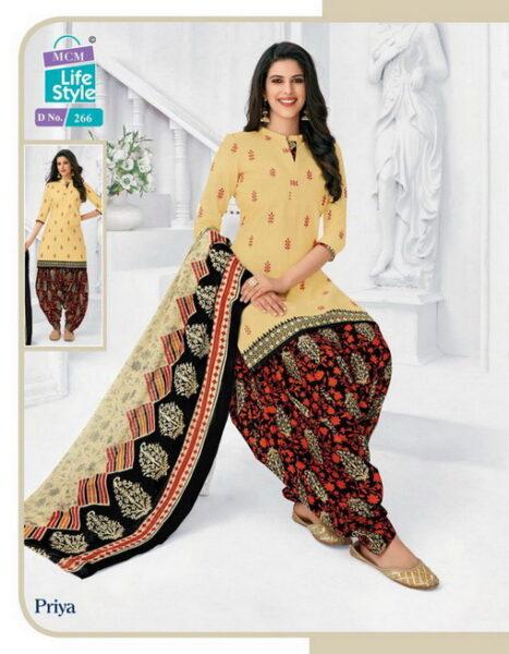 MCM Priya vol 10 Readymade Patiyala Suits