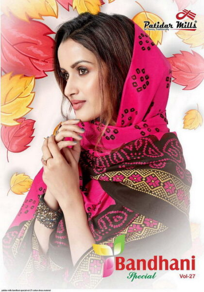 Patidar Bandhani vol 27 Cotton Dress Materials wholesale