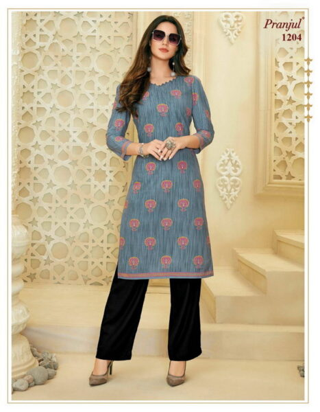 Pranjul Pari vol 2 Low range Cotton Kurtis wholesaler