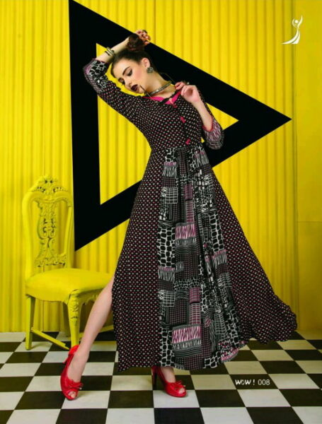 Siona Long Gown Kurtis wholesalers