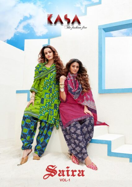 Suryajyoti Saira Vol 1 Readymade Patiyala Suits